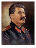 Portrait of Joseph Stalin circa 1945-50 Giclee Print