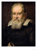 Portrait of Galileo Galilei Premium Giclee Print by Justus Sustermans