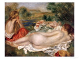 Two Bathers, 1896 Giclee Print by Pierre-Auguste Renoir