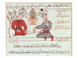 Treatment of Boils and Warts, 1466 Giclee Print by Charaf-ed-din 