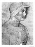 Soldier Wearing a Helmet Giclee Print by Antonio Pisani Pisanello