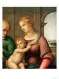 The Holy Family, 1506 Reproduction proc&#233;d&#233; gicl&#233;e par Raphael 