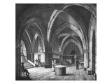 Interior View of the Entrance Room at the Conciergerie Prison Giclee Print by  Collard