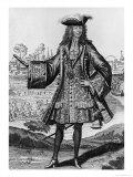 Jean Bernard Desjean Baron de Pointis Giclee Print by Henri Bonnart