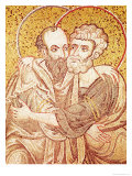 Ss. Peter and Paul Embracing Giclee Print