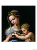 The Virgin of the Rose, circa 1518 Impression giclée par  Raphael