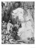 The Small Raising of Lazarus, 1644 Giclee Print by  Rembrandt van Rijn