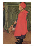 Bringing Home the Shopping Giclee Print by Carl Larsson