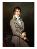 Portrait of Paulin-Guerin 1801 Giclee Print by Robert Lefevre