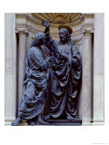 The Doubting Thomas Gicle-tryk af Andrea del Verrocchio