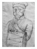 Musician Giclee Print by Antonio Pisani Pisanello