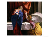 The Annunciation, circa 1623 Giclee Print by Orazio Gentileschi