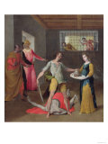 The Beheading of St. John the Baptist Giclee Print