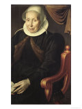 Portrait of an Elderly Woman, 1603 Giclee Print by Aert Pietersz.