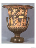 Red-Figure Calyx-Krater Depicting the Madness of Lycurgus, circa 340 BC Giclee Print