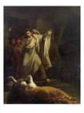The Levite of Ephraim Giclee Print by Louis Charles Auguste Couder
