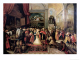 Solomon in the Treasury of the Temple, 1633 Giclee Print by Frans Francken the Younger