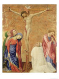 Calvary with a Carthusian Monk, 1389-95 Giclee Print by Jean De Beaumetz