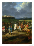 The English Prisoners at Astorga Being Presented to Napoleon Bonaparte in 1809, 1810 Giclee Print by Hippolyte Lecomte