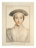 Portrait of Queen Anne of Cleves Published 1796 Giclee Print by Hans Holbein the Younger