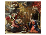 The Annunciation, 1651-52 Giclee Print by Charles Poerson