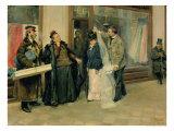 The Choice of Wedding Presents, 1897-98 Giclee Print by Vladimir Egorovic Makovsky