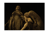 Detail of the Statue Depicting St Mary Magdalene Being Carried Up to Heaven by Two Angels Giclee Print by Carlo Marochetti