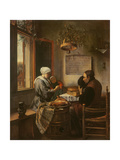 Grace Before Meat, 1660 Giclee Print by Jan Havicksz. Steen
