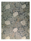 """Rose-90"" Wallpaper Design Giclee Print by William Morris"