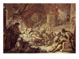 Study for a Prison Scene Giclee Print by Francois Boucher
