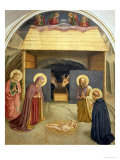 Nativity, with St. Catherine of Alexandria and St. Peter the Martyr, 1442 Giclee Print by  Fra Angelico