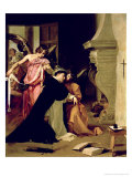 Temptation of St.Thomas Aquinas Giclee Print by Diego Velázquez