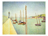 Portrieux, Brittany, 1888 Giclee Print by Paul Signac