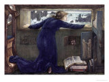 Dorigen of Bretaigne Longing for the Safe Return of Her Husband, 1871 Premium Giclee Print by Edward Burne-Jones