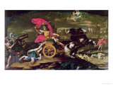 Achilles Dragging the Body of Hector Around the Walls of Troy Giclee Print by Donato Creti
