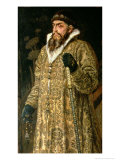 Tsar Ivan IV Vasilyevich &quot;The Terrible&quot; 1897 Gicl&#233;e-Druck von Victor Mikhailovich Vasnetsov