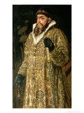 """Tsar Ivan IV Vasilyevich """"The Terrible"""" 1897 Giclée-Druck von Victor Mikhailovich Vasnetsov"""