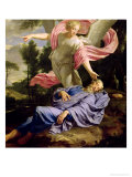 The Dream of Elijah, 1650-55 Premium Giclee Print by Philippe De Champaigne