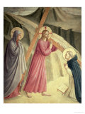 Christ Carrying the Cross, circa 1438-45 Giclee Print by  Fra Angelico