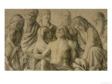 Pieta, the Dead Christ Giclee Print by Giovanni Bellini