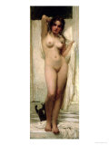 Woman Bathing, 1901 Giclee Print by Karoly Lotz