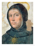 St. Thomas Aquinas Giclée-tryk af Fra Bartolommeo