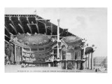 The Theatre de L'Odeon, 1776 Giclee Print by Charles De Wailly