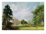 Malvern Hall, Warwickshire, 1821 Giclee Print by John Constable
