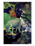 The White Horse, 1898 Stampa giclée di Paul Gauguin