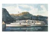 """The Hudson River Steamboat """"St John"""""""