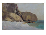 The Rocks at Vallieres, Near Royan Giclee Print by Odilon Redon