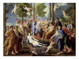 Parnassus, 1626 Giclee Print by Nicolas Poussin