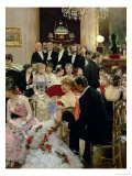 The Soiree, circa 1880 Giclee Print by Jean Béraud