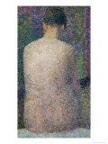 Model from the Back, 1886 Giclee Print by Georges Seurat